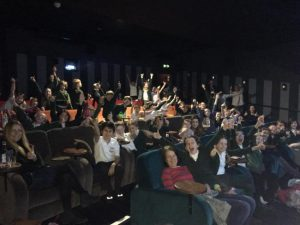 Young entrepreneurs given cinema trip